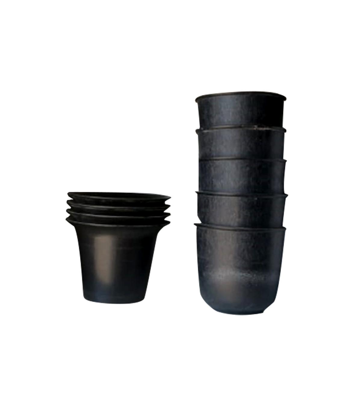 Small Black Plastic Pot