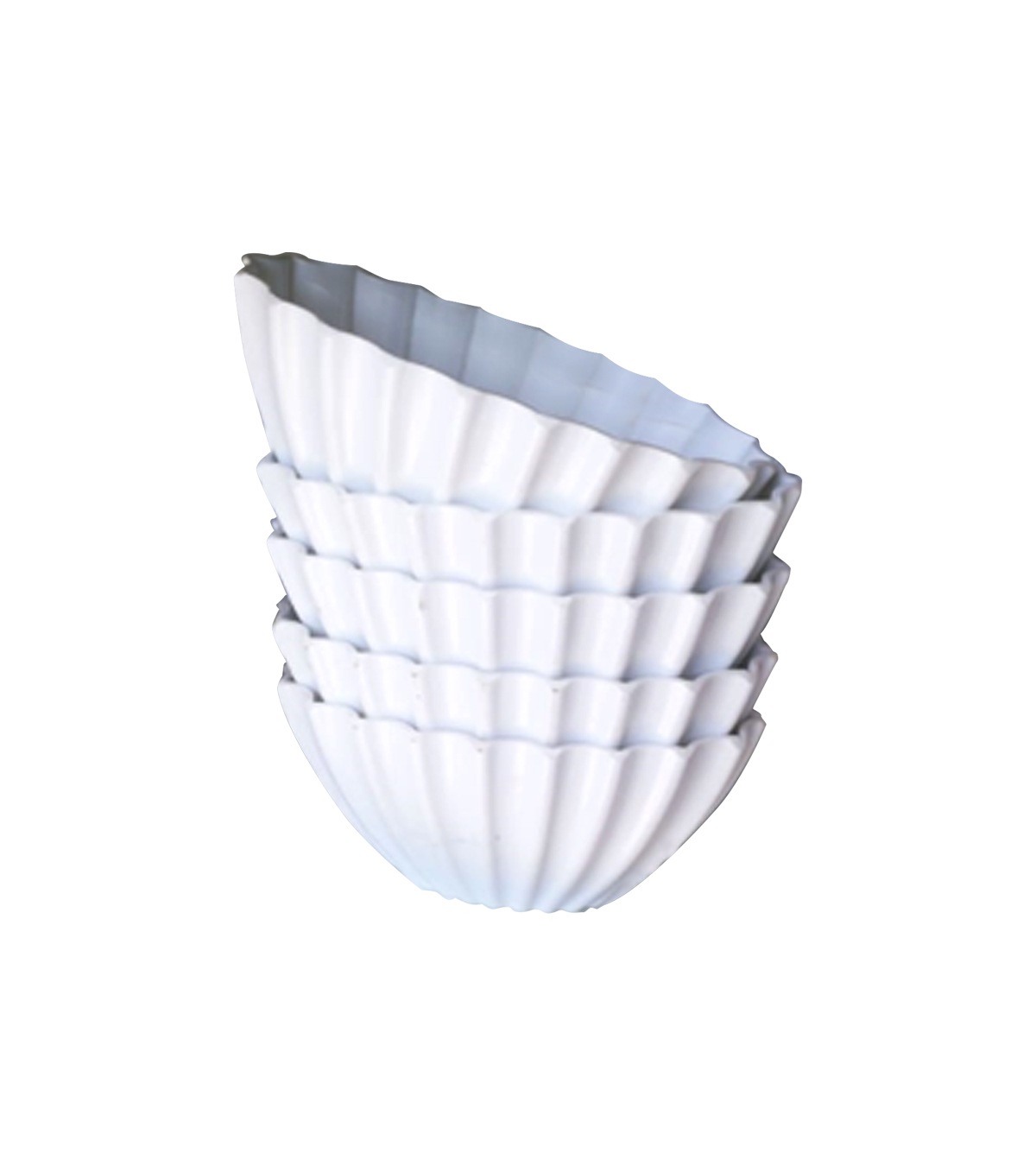 Small white pot 1